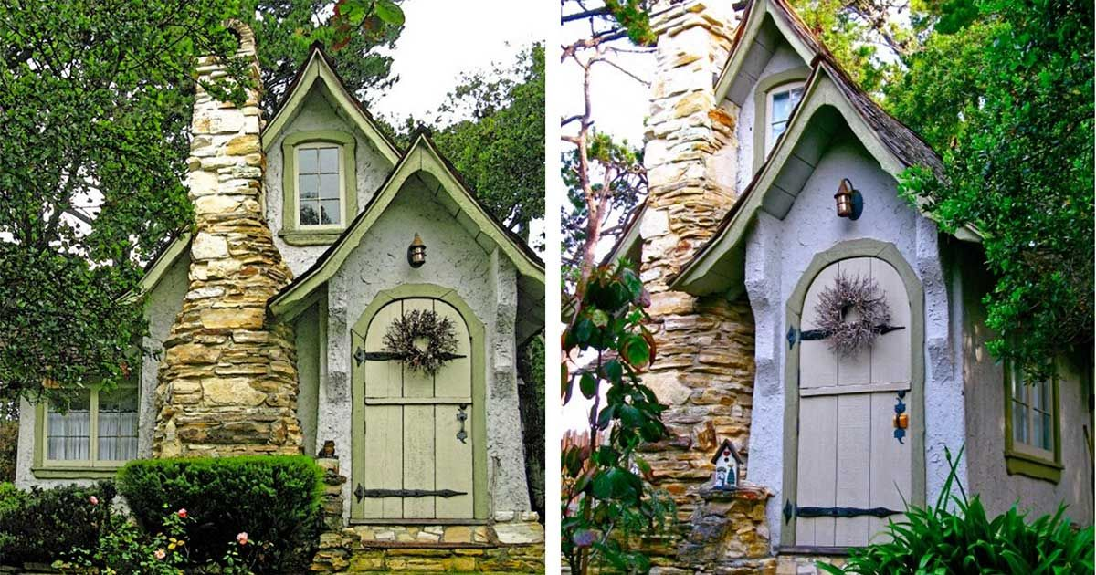 Tiny Tudor Cottage Is A Marvel By The Sea